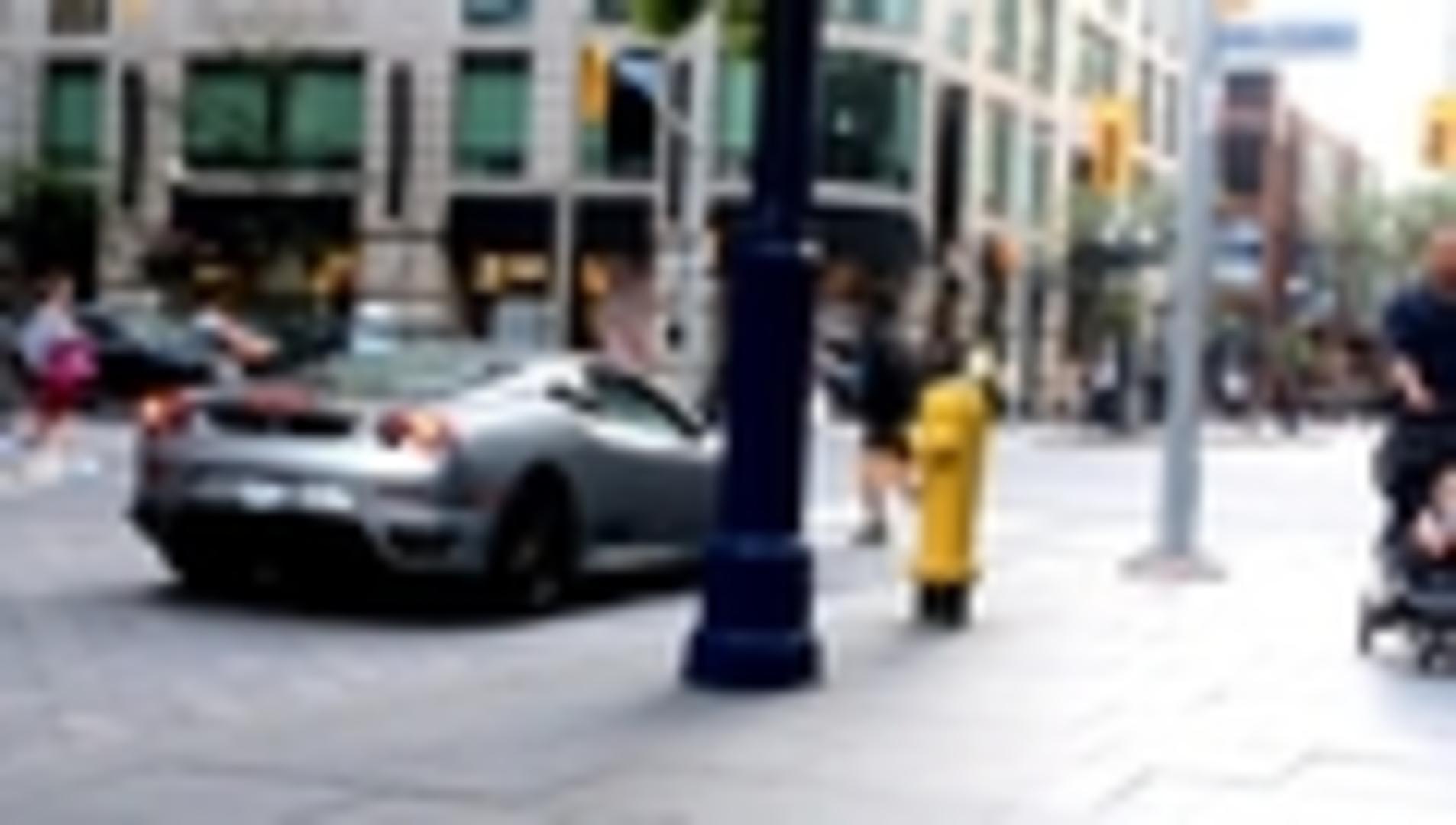 Ferrari Scares Girl Annoyed by Loud Engine | Jukin Media Inc