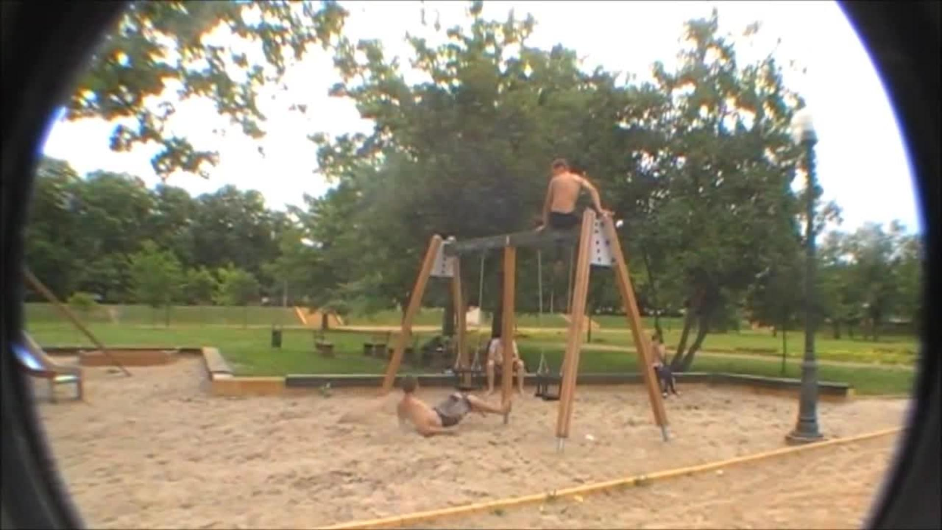 parkour kid attempts a running gainer backflip jukin media