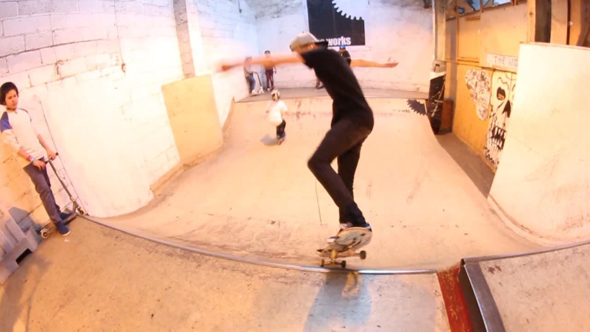 skateboarding jump into street hits spectator jukin media