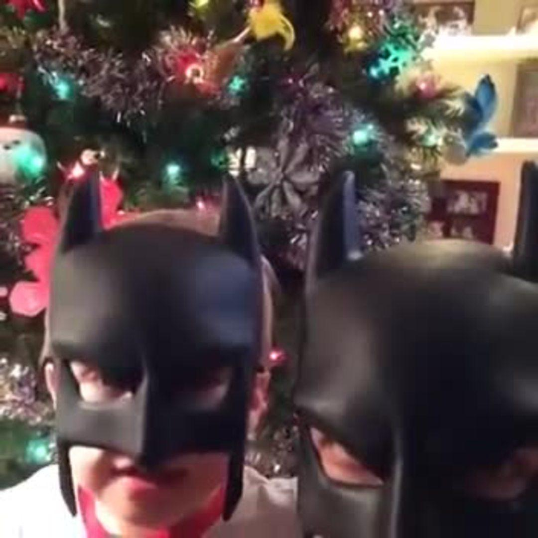 BatDad Patrols the Neighborhood with Uncle Rob | Jukin Media