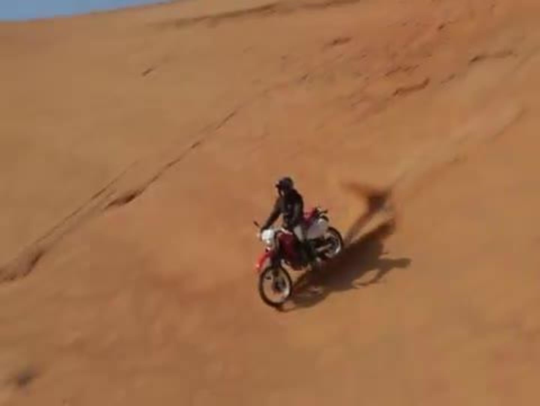 Silver Lake Sand Dunes Dirt Bike Crash Jukin Media