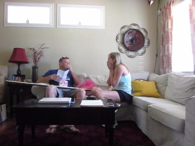 Husband Panics After Discovering Wife is Pregnant | Jukin