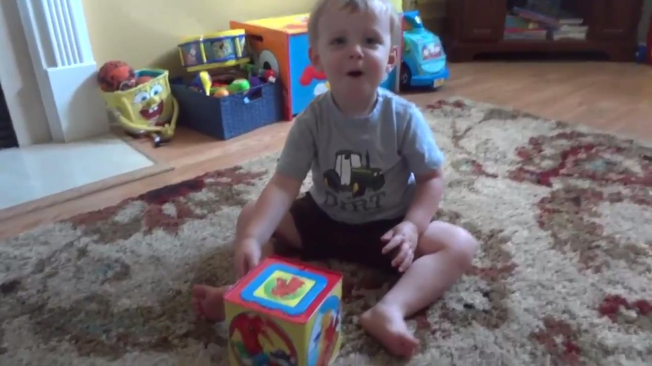 Little Boy Surprised with Jack-in-the-Box  sc 1 st  Jukin Media & Little Boy Catches Fish with Toy Rod | Jukin Media Aboutintivar.Com