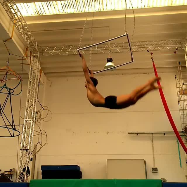 Gymnast Practices Kovacs   Jukin Media Inc