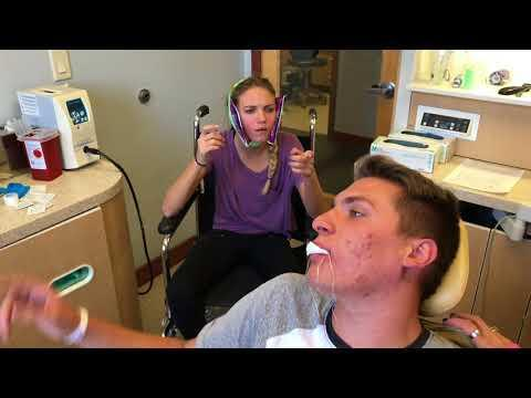 Brother And Sister Have Wisdom Teeth Removed At Same Time