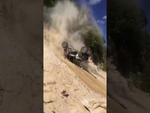 Utility Task Vehicle Cannot Climb Hill | Jukin Media Inc