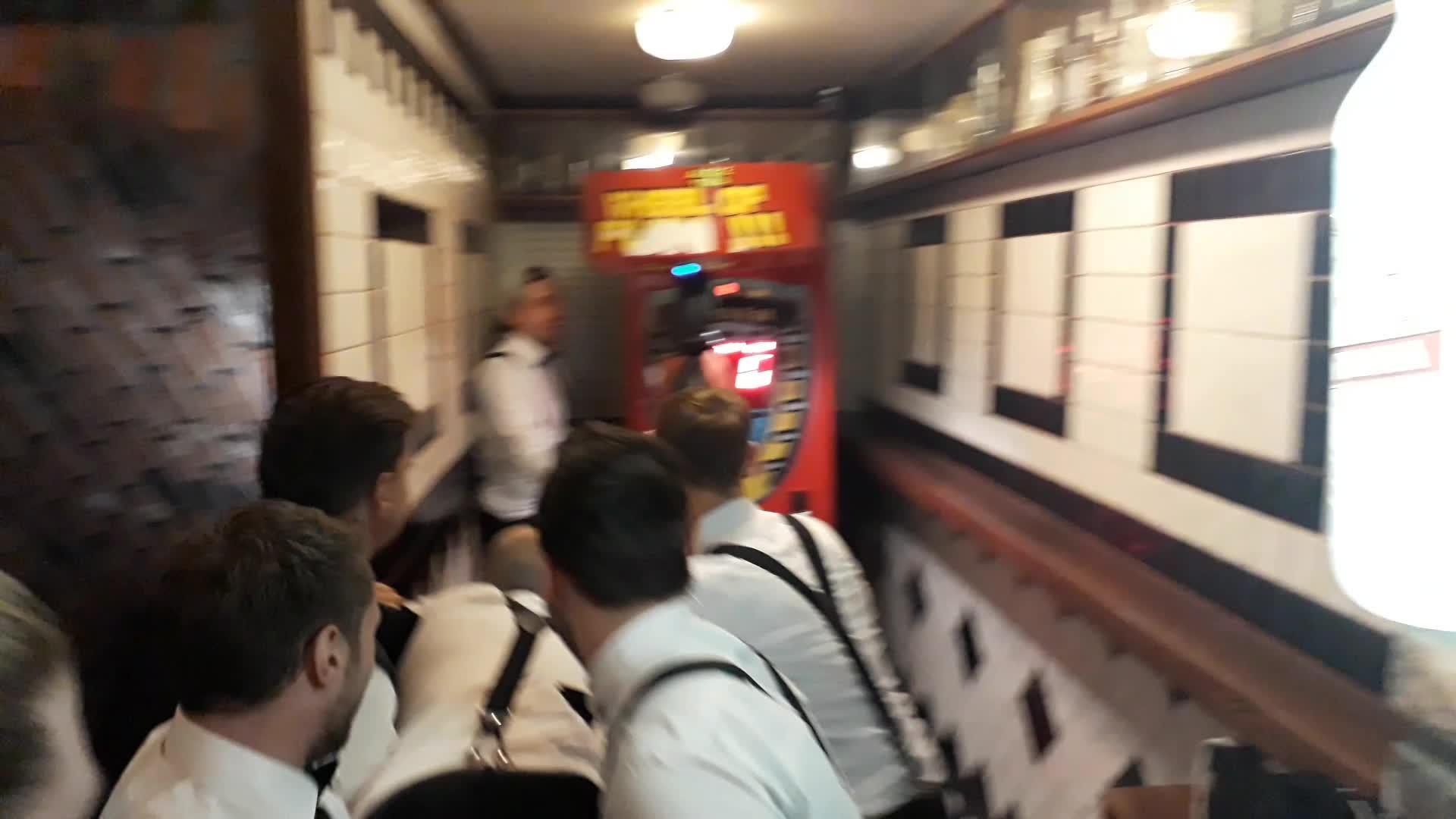 Guy Hits Punching Bag Arcade Game with Head | Jukin Media Inc