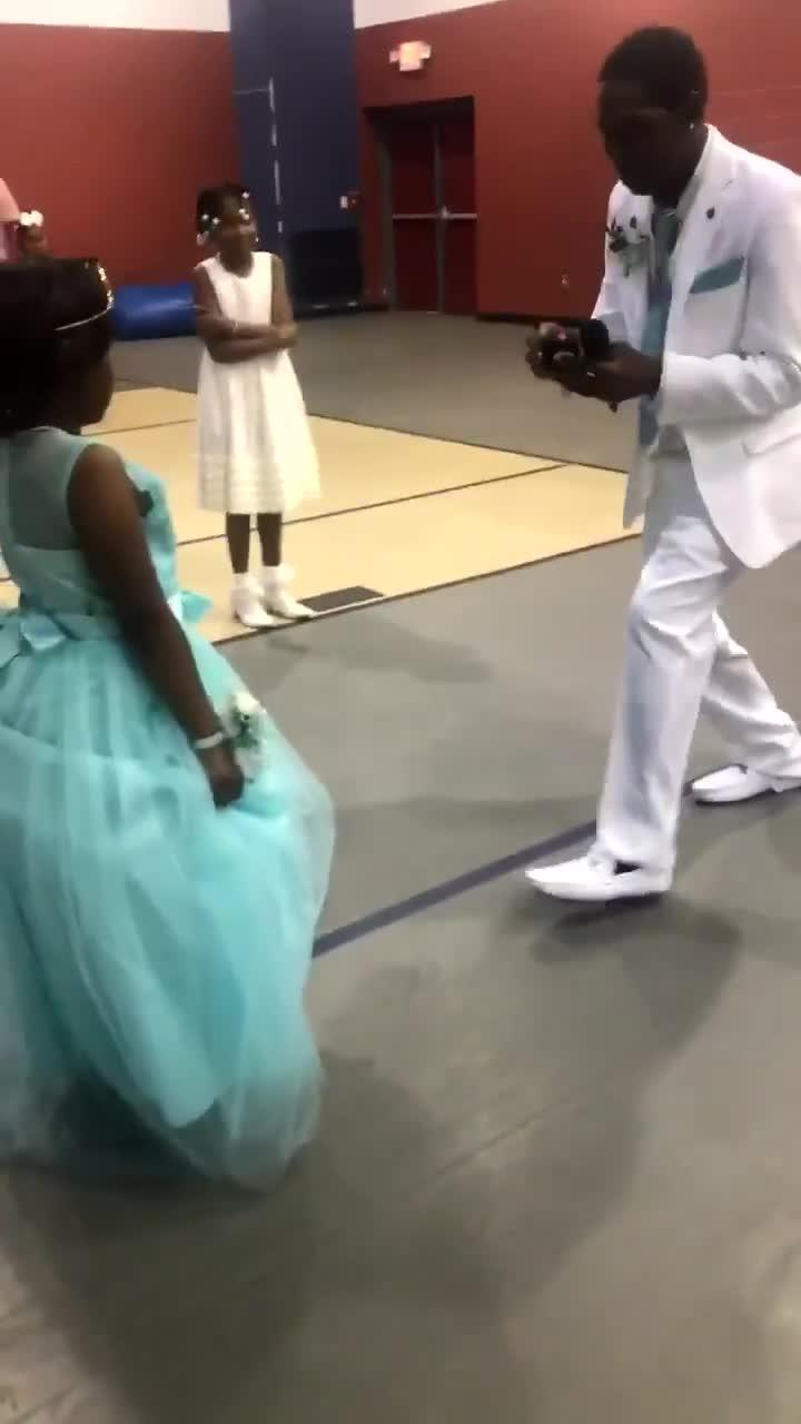 Stepdad Asks Girl to Be His Daughter With a Ring